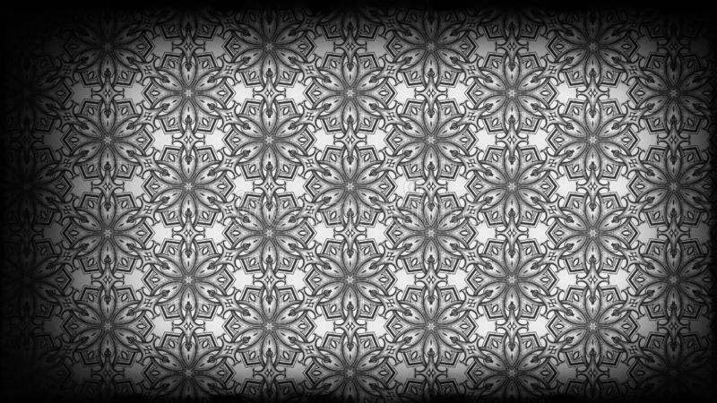 Negro y modelo de Grey Vintage Decorative Ornament Wallpaper libre illustration