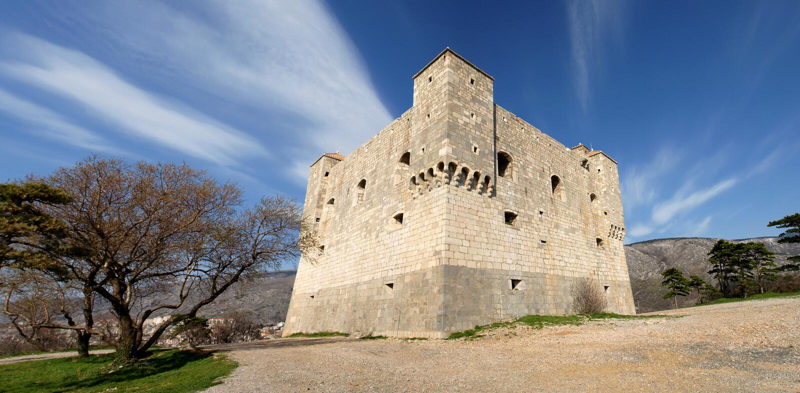 Nehaj Castle royalty free stock photos