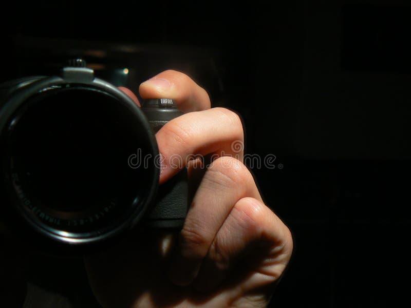 Nehmen des Schusses lizenzfreie stockfotografie