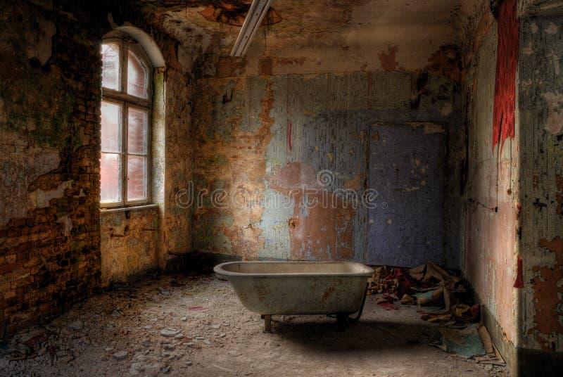 Nehmen Sie ein Bad stockbild
