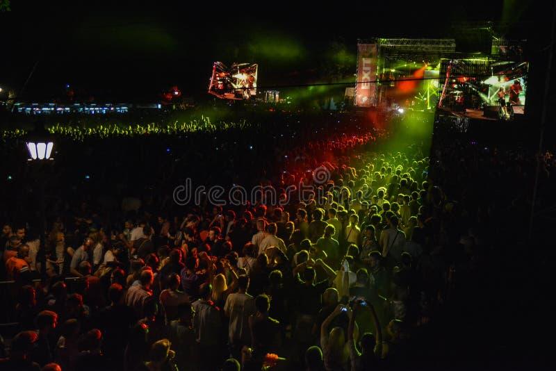 NEHMEN Sie Musikfestival 2015 heraus lizenzfreies stockbild