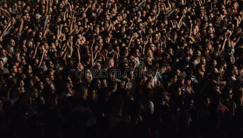 NEHMEN Sie Musikfestival 2015 heraus stockfotografie