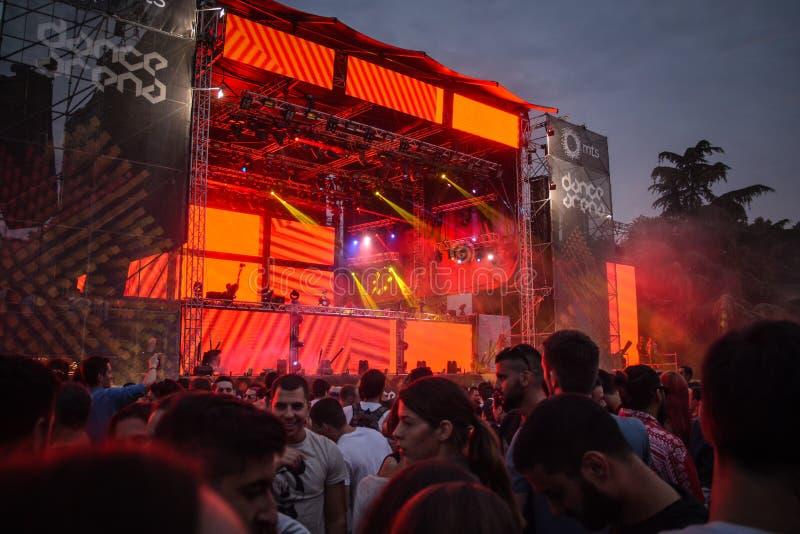 NEHMEN Sie Musikfestival 2015 heraus stockbilder
