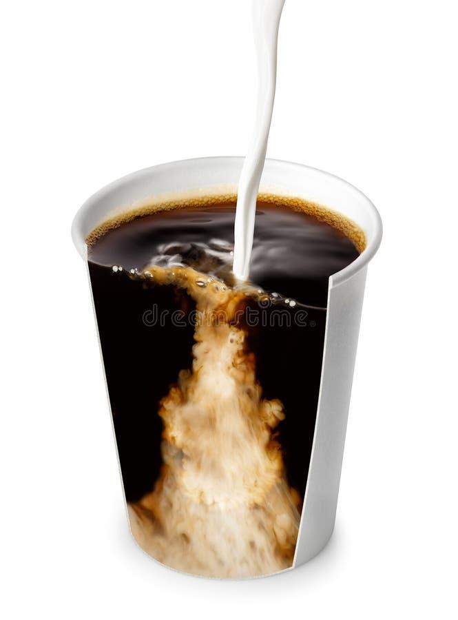 Nehmen Sie Tasse Kaffee weg stockfotografie