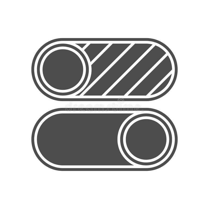 nehmen Sie von der Winkelikone heraus Element von minimalistic f?r bewegliches Konzept und Netz Appsikone Glyph, flache Ikone f?r lizenzfreie abbildung