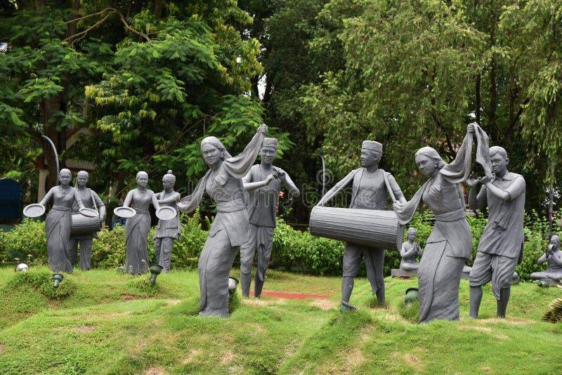 Nehrupark Assam royalty-vrije stock foto