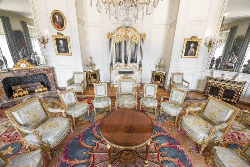 Nei corridoi di Versailles fotografia stock