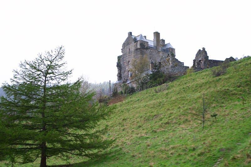 Neidpath Schloss 1 lizenzfreie stockbilder