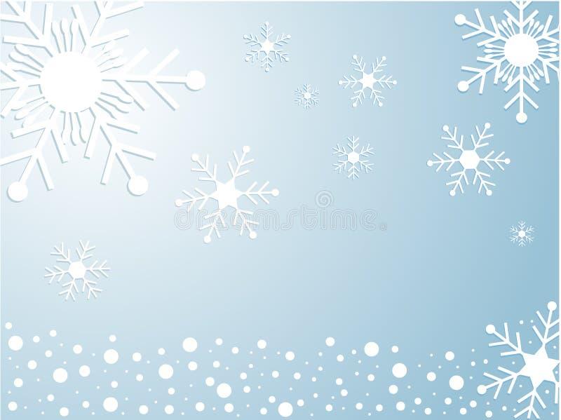 neige illustration de vecteur