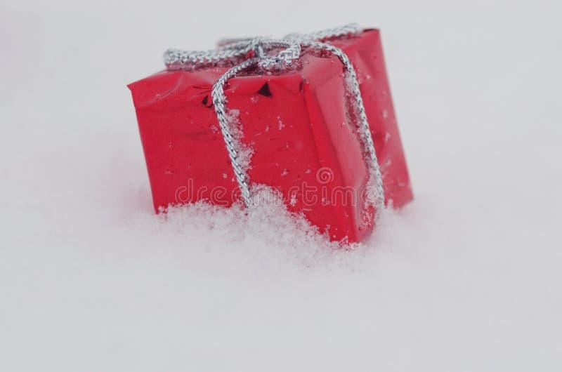 Neige de décoration de Noël photos libres de droits
