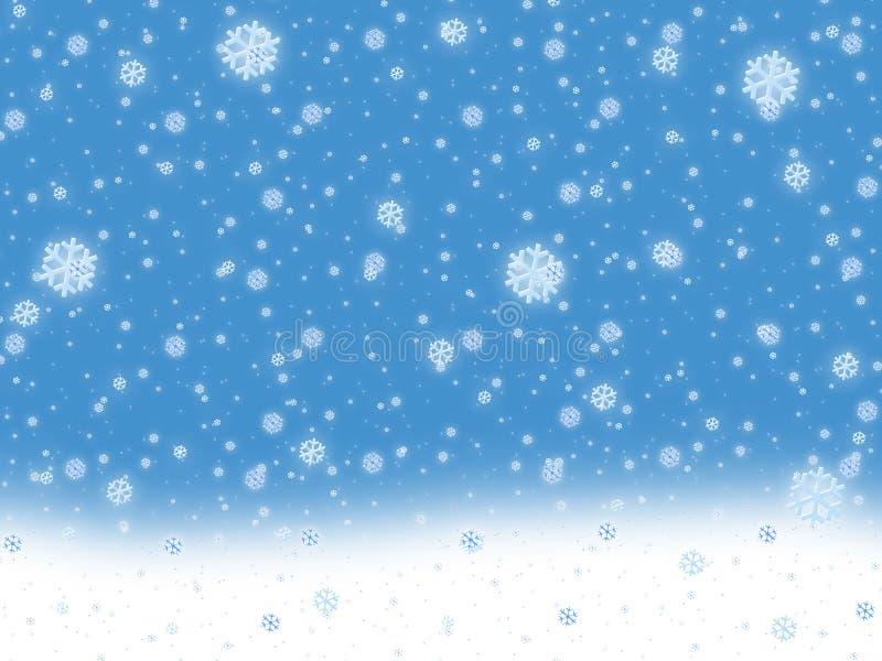 neige de fond illustration libre de droits