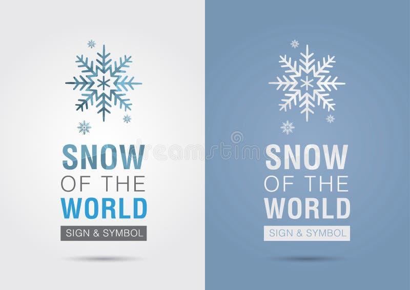 Neige du monde Icône de graphique d'infos d'Eco Vente créative illustration de vecteur