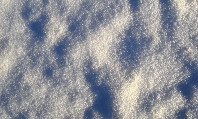 Neige et cristaux de glace brillants, graphiques, fond, structurel photographie stock libre de droits