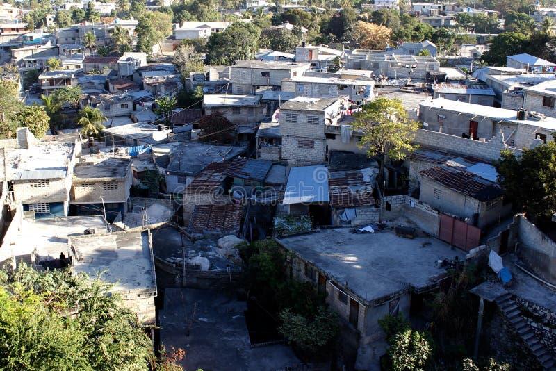Neighborhod di Petionville, Port-au-Prince, Haiti immagini stock libere da diritti