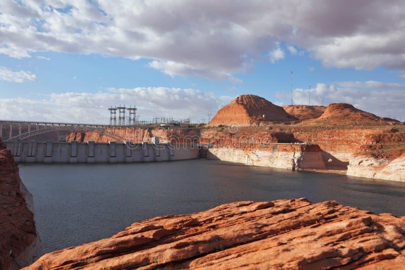 Neighborhood Of Glen Canyon Dam Stock Image
