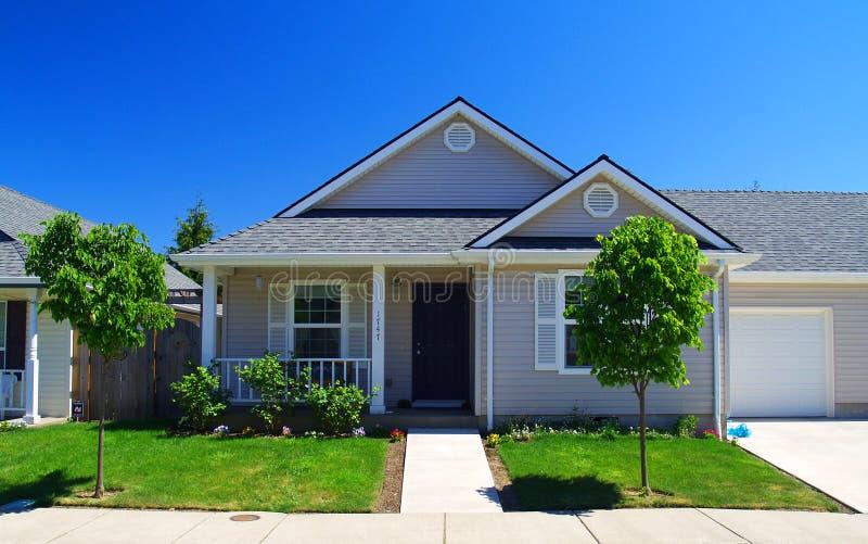 Neighborhood Home stock photography