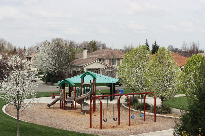 Download Neighborhood Park Royalty Free Stock Photography - Image: 14440407