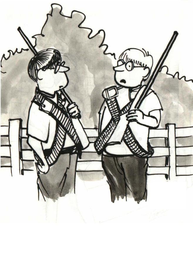 Download Neighborhood Watch stock illustration. Illustration of humor - 36996449