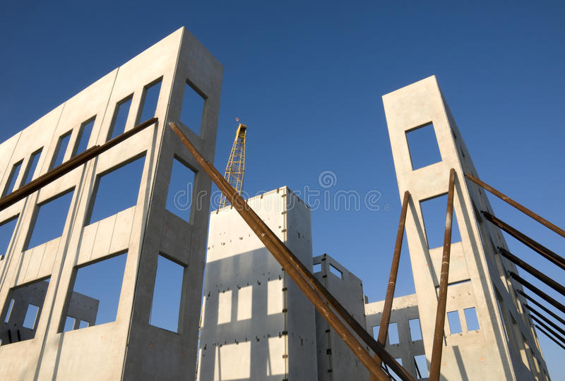 Neigung-Wand-Aufbau lizenzfreies stockfoto