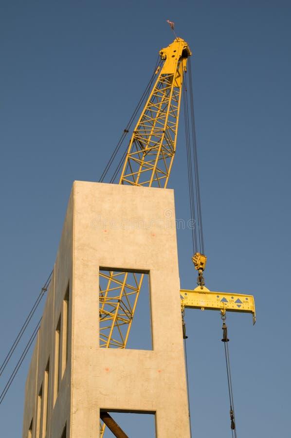 Neigung-Wand-Aufbau stockfotografie