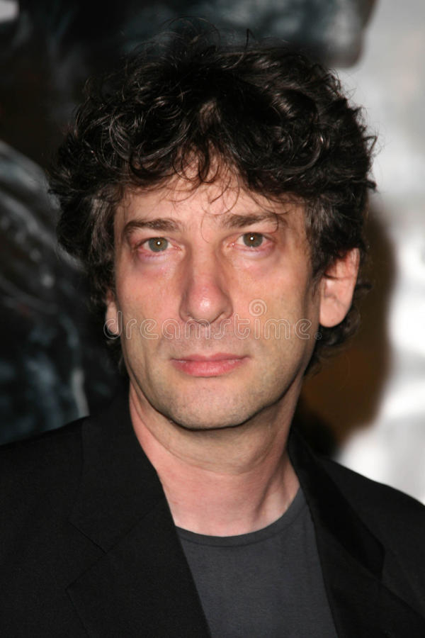Neil Gaiman royalty-vrije stock fotografie