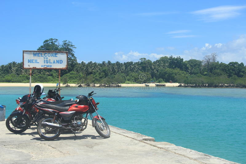 Neil Island (Andaman) royalty-vrije stock afbeelding