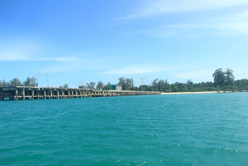 Neil Island (Andaman)--5 royalty-vrije stock afbeelding