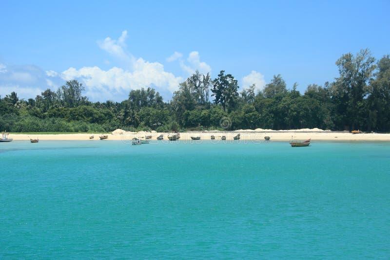 Neil Island(Andaman)--9. Paradise beach, Neil Island - Andaman island, India stock photo