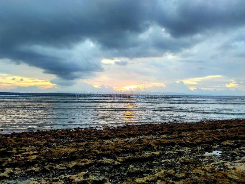 Neil Island Sunset Point royalty-vrije stock foto's