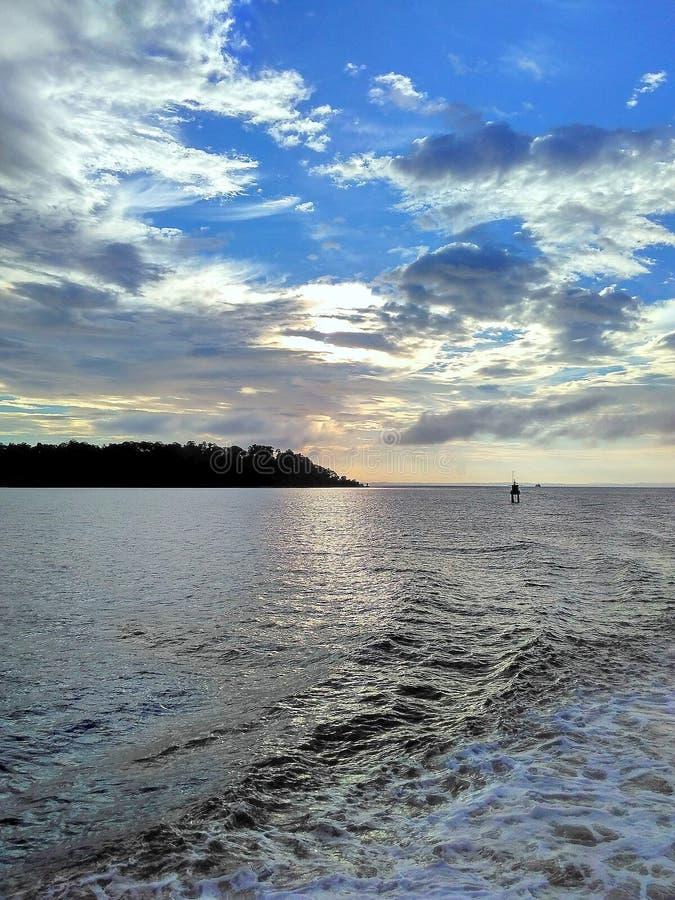 Neil Island Sunset Point royalty-vrije stock afbeelding