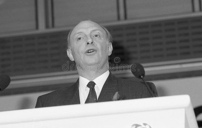 Download Neil Kinnock editorial stock image. Image of labour, parliament - 14082934