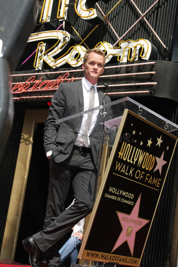 Neil Patrick Harris royalty-vrije stock foto's