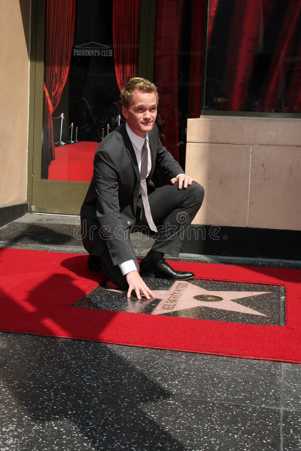 Neil Patrick Harris stock foto