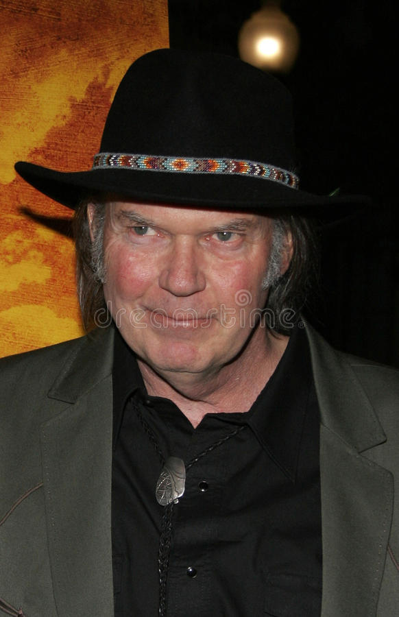 Neil Young lizenzfreie stockfotos