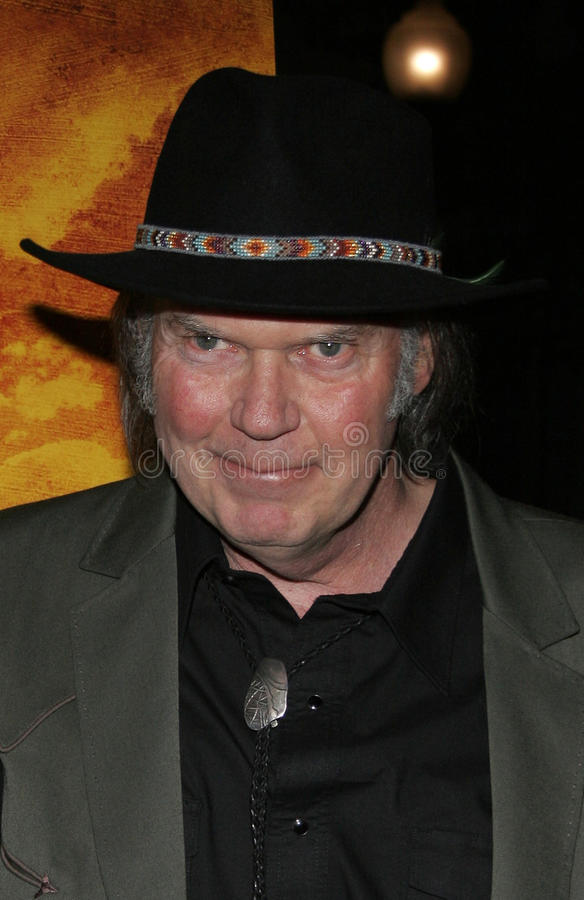 Neil Young photos libres de droits