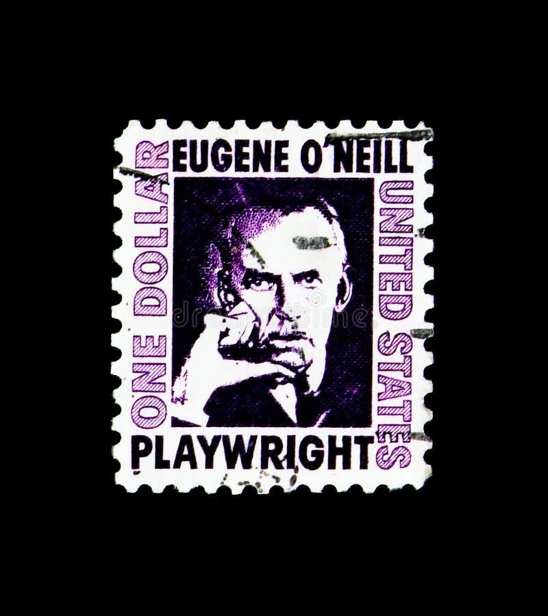 ` Neill Eugene O 188-1953, Dramatist, berühmtes Amerikaner serie, circa 1973 lizenzfreie stockfotografie