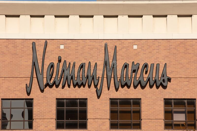 Neiman Marcus Reportedly Considers Filing for Bankruptcy, USA royalty free stock photo
