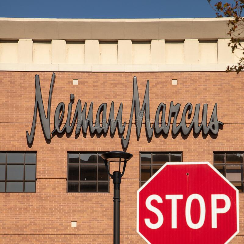 Neiman Marcus Reportedly Considers Filing for Bankruptcy, USA royalty free stock image