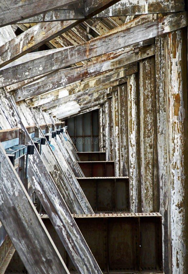 Nein 3 umfaßter Beleg in dem historischen Werft Chatham stockfoto