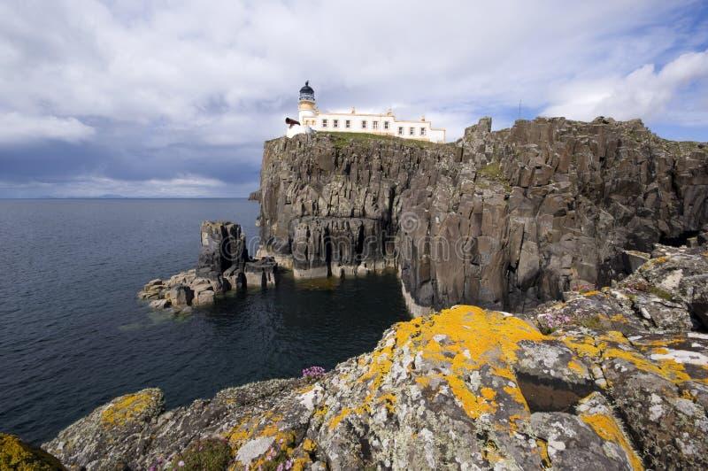 Neist Punkt, Insel der Skye Ansicht lizenzfreies stockbild