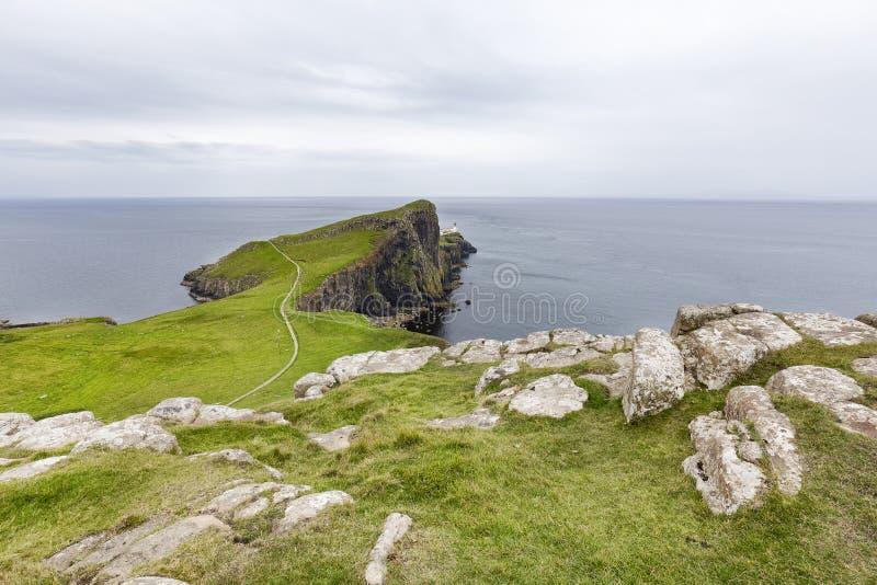 Neist punkt na wyspie Skye zdjęcia royalty free