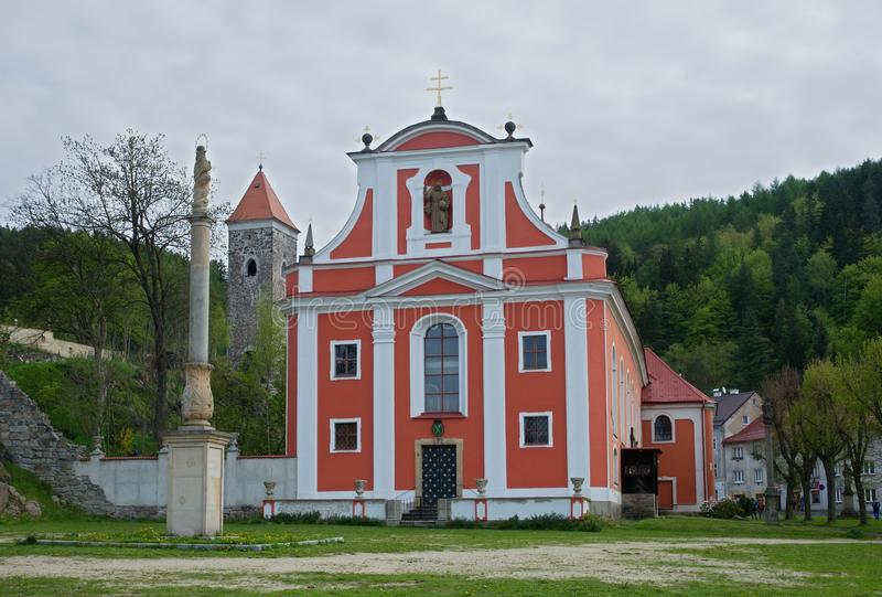 Nejdek,捷克共和国 免版税库存照片