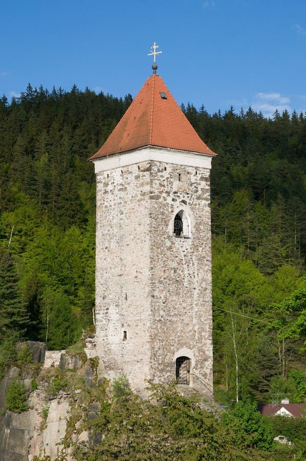 Nejdek, Tsjechische republiek royalty-vrije stock foto