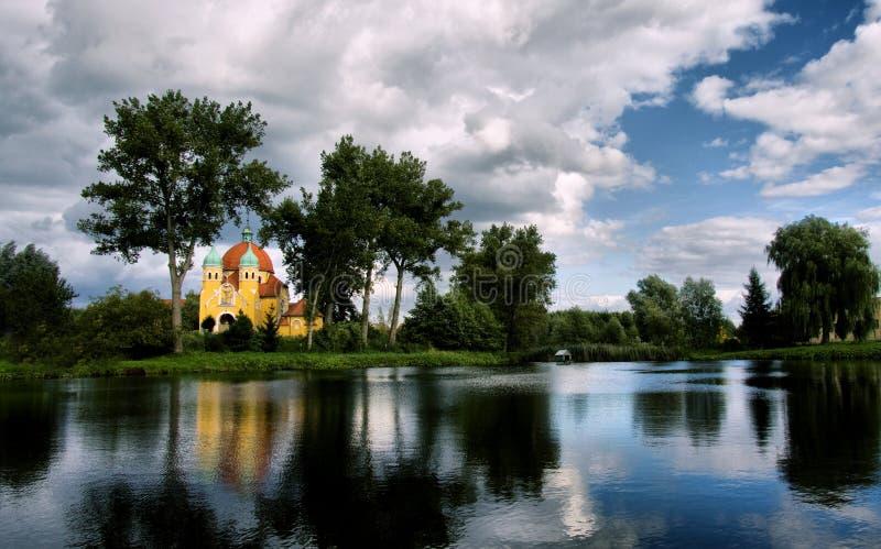 Nekla in Polen royalty-vrije stock foto