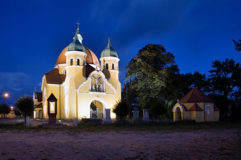 Nekla in Polen royalty-vrije stock fotografie