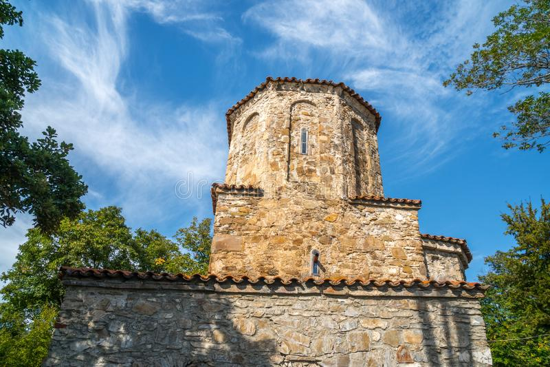 Nekresi, historic monastery in Kakheti, Georgia.  royalty free stock images