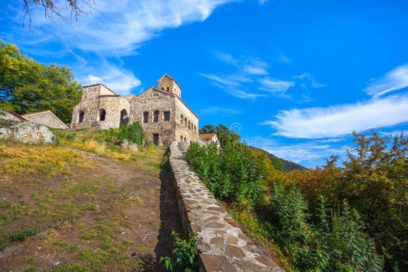 Nekresi, historic monastery in Kakheti, Georgia.  royalty free stock photos