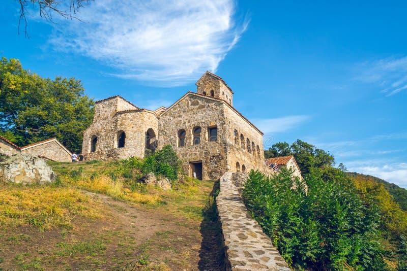 Nekresi, historic monastery in Kakheti, Georgia.  stock photos