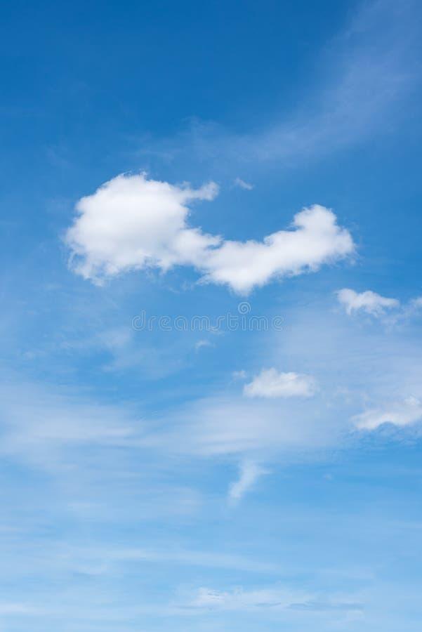 Nel cielo fotografia stock
