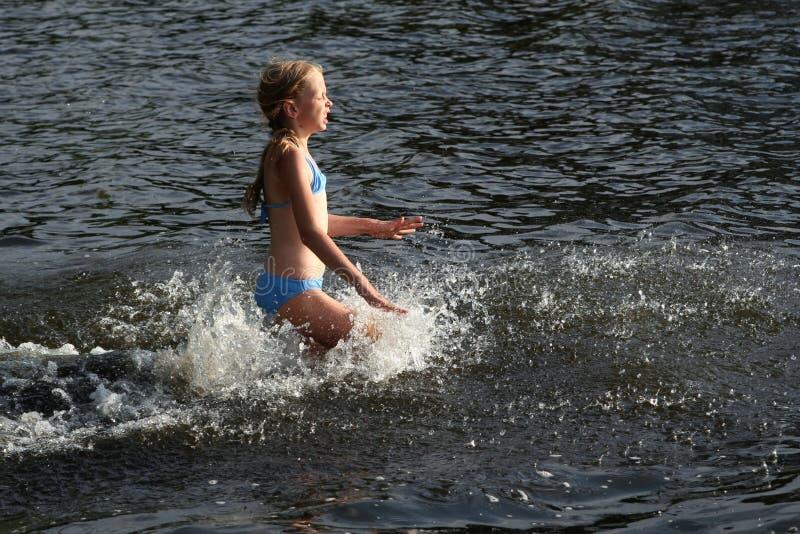 Nel lago immagini stock libere da diritti